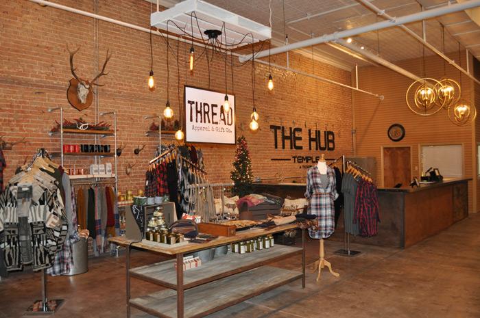 The Hub interior